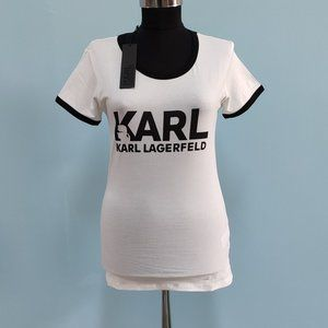 Karl Lagerfeld White Women T-Shirt
